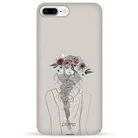 Накладка для iPhone 7 Plus/iPhone 8 Plus пластик Pump Tender Touch Case Flowers in Hair