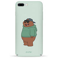Накладка для iPhone 7 Plus/iPhone 8 Plus пластик Pump Tender Touch Case Minty Bear