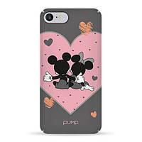 Накладка для iPhone 7/iPhone 8 пластик Pump Tender Touch Case Mickey Love