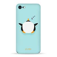 Накладка для iPhone 7/iPhone 8 пластик Pump Tender Touch Case Penquin Sleep