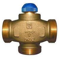 Трехходовой термостатический клапан HERZ CALIS-TS-RD, розпредиление потоков к 100% DN 32