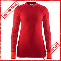 Термобелье женское Craft Warm Intensity красное 1905347-452801