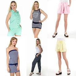 Женские шорты, туники, комбинезоны, брюки