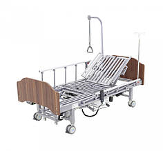 Кровать электрическая YG-3 Праймед с боковым переворачиванием, туалетным устройством и функцией «кардиокресло»