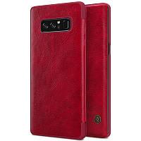 Чохол-книжка для Samsung Galaxy N950 Note 8 Nillkin Qin Series Червоний, фото 1