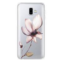 Накладка для Samsung Galaxy J610 J6+ 2018 силікон Boxface Magnolia