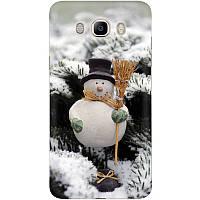 Накладка для Samsung Galaxy J510 J5 силікон Boxface Сніговик