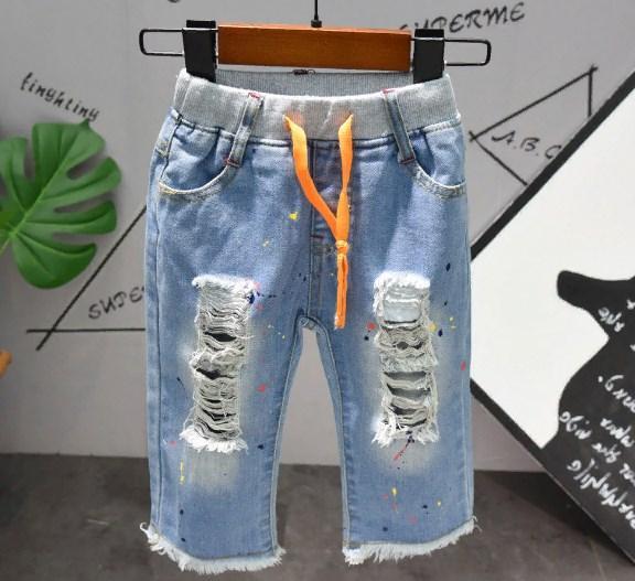 Бриджи джинсовые Симпсон 90
