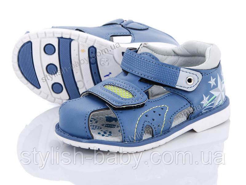 Детская летняя обувь 2019. Детские босоножки бренда Ok Shoes для мальчиков (рр. с 21 по 26)