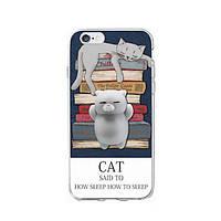 Накладка для iPhone 7/iPhone 8 Infinity антистрес Cat Sleep