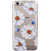 Накладка для iPhone 7 Plus/iPhone 8 Plus cилікон Lucent Diamond Case Daisy