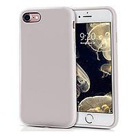 Накладка для iPhone 7/iPhone 8 силікон JustMust Liquid Silicone White