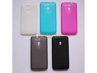 Накладка для LG Q6/Q6 M700/Q6+ M700AN силікон TPU Рожевий