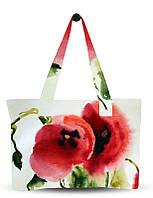 Сумка женская с цветами Маки! Бесплатная доставка! Гарантия!