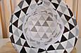 "Панама Classik ""Коричнево-сірі трикутники"", фото 3"