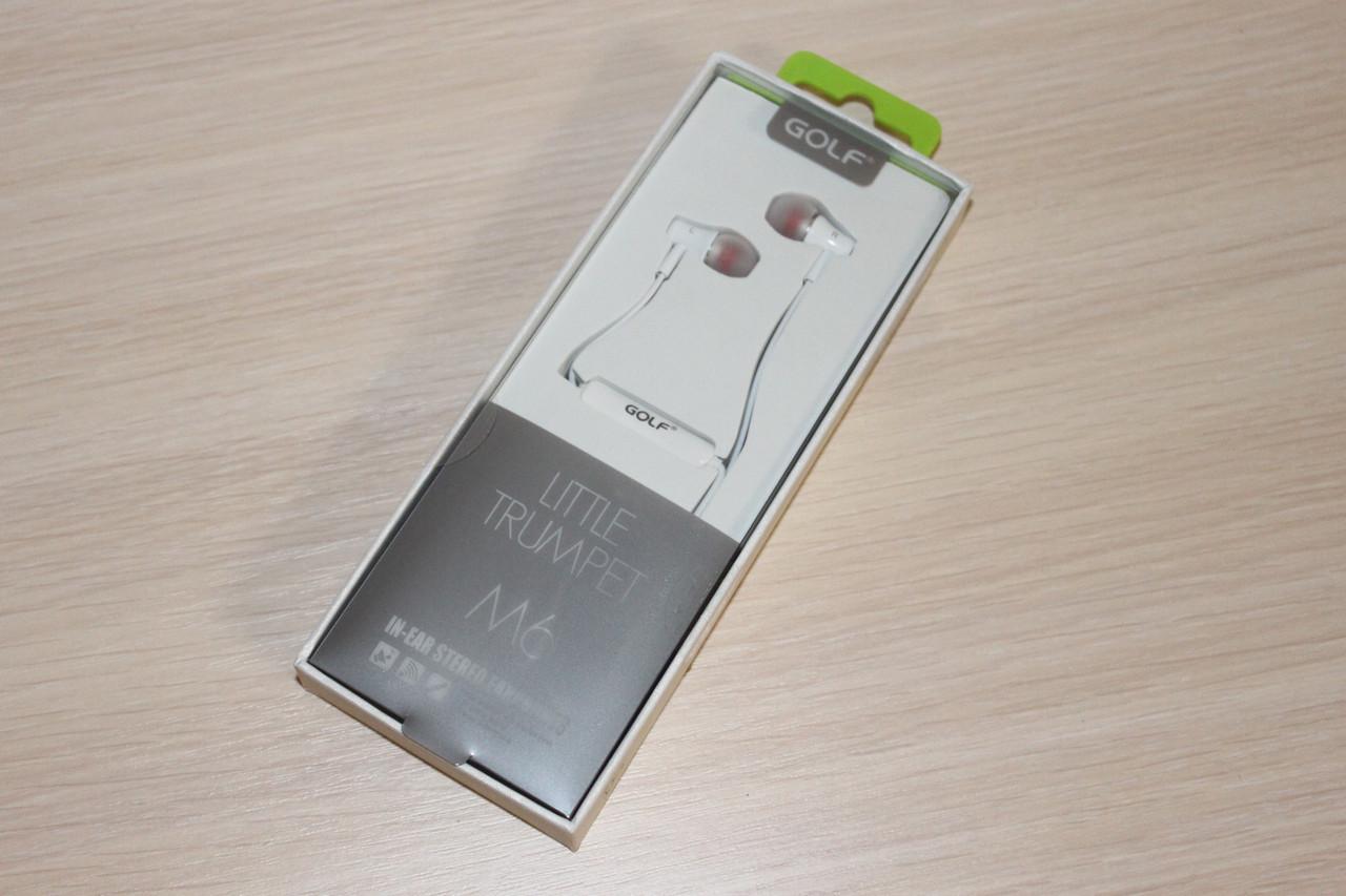 Гарнитура Golf M6 White