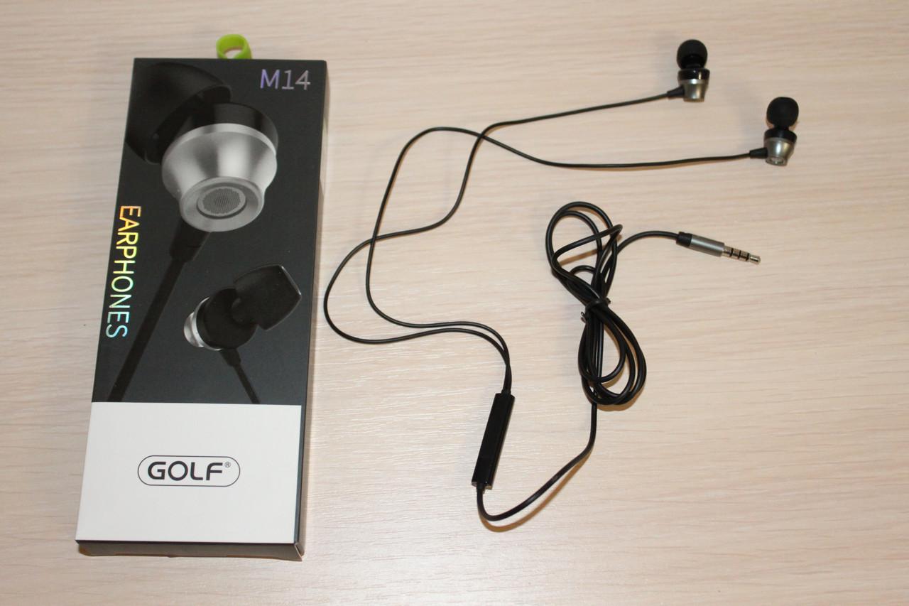 Гарнитура Golf M14 Grey