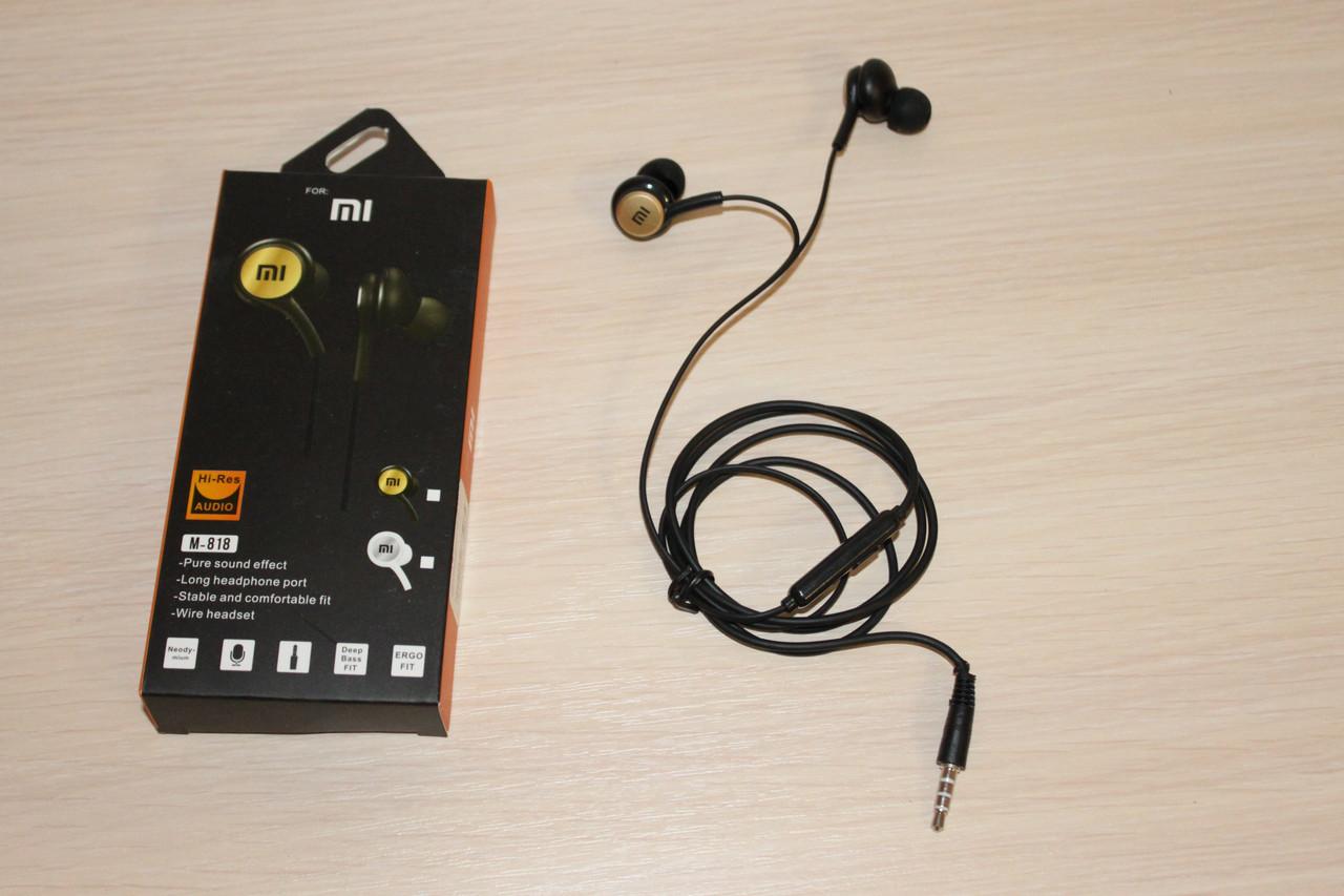 Гарнитура Xiaomi M818 Black