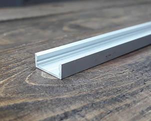 Профиль для светодиодной ленты z306 (аналог ЛП7) анод. Длина планки 2мп, фото 2