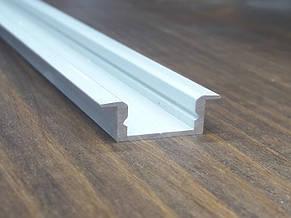Алюминиевый профиль врезной для Led ленты. BLL 1202 анод. L-3метра, фото 2