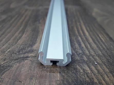 Светодиодный радиаторный профиль универсальный z200 анод. Планка 2мп., фото 2