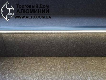 Профиль для подсветки ступенек., фото 2