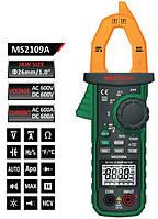 MS2109A Mastech Токоизмерительные клещи DCA, ACA, DCV, ACV, R, C, F, t, тест диодов, непрерывности цепи