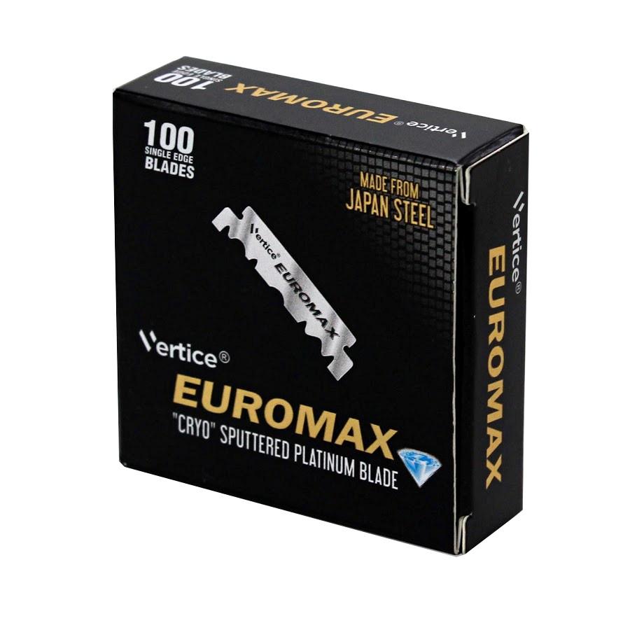 Euromax 100 лезвий половинок