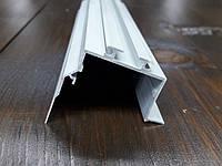 Угловой led профиль интерьерный под штукатурку.