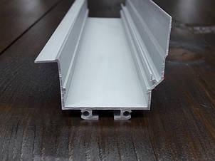 Угловой led профиль интерьерный под штукатурку., фото 2