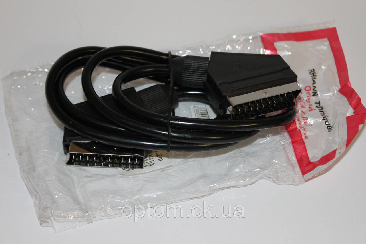 Видео-Аудио кабель SCART - SCART