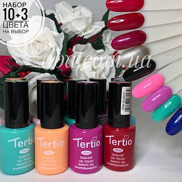 Набор гель-лаков Tertio, 10+3 в подарок