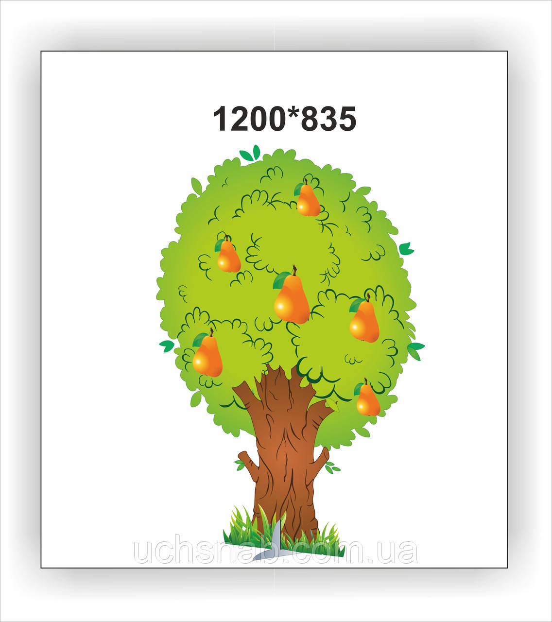 "Декорация для утренника ""Дерево с яблоками"": продажа, цена ..."