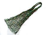 Авоська - тропическая зелень - Шопер сумка -  Французская сумка - Ежедневная сумка, фото 2