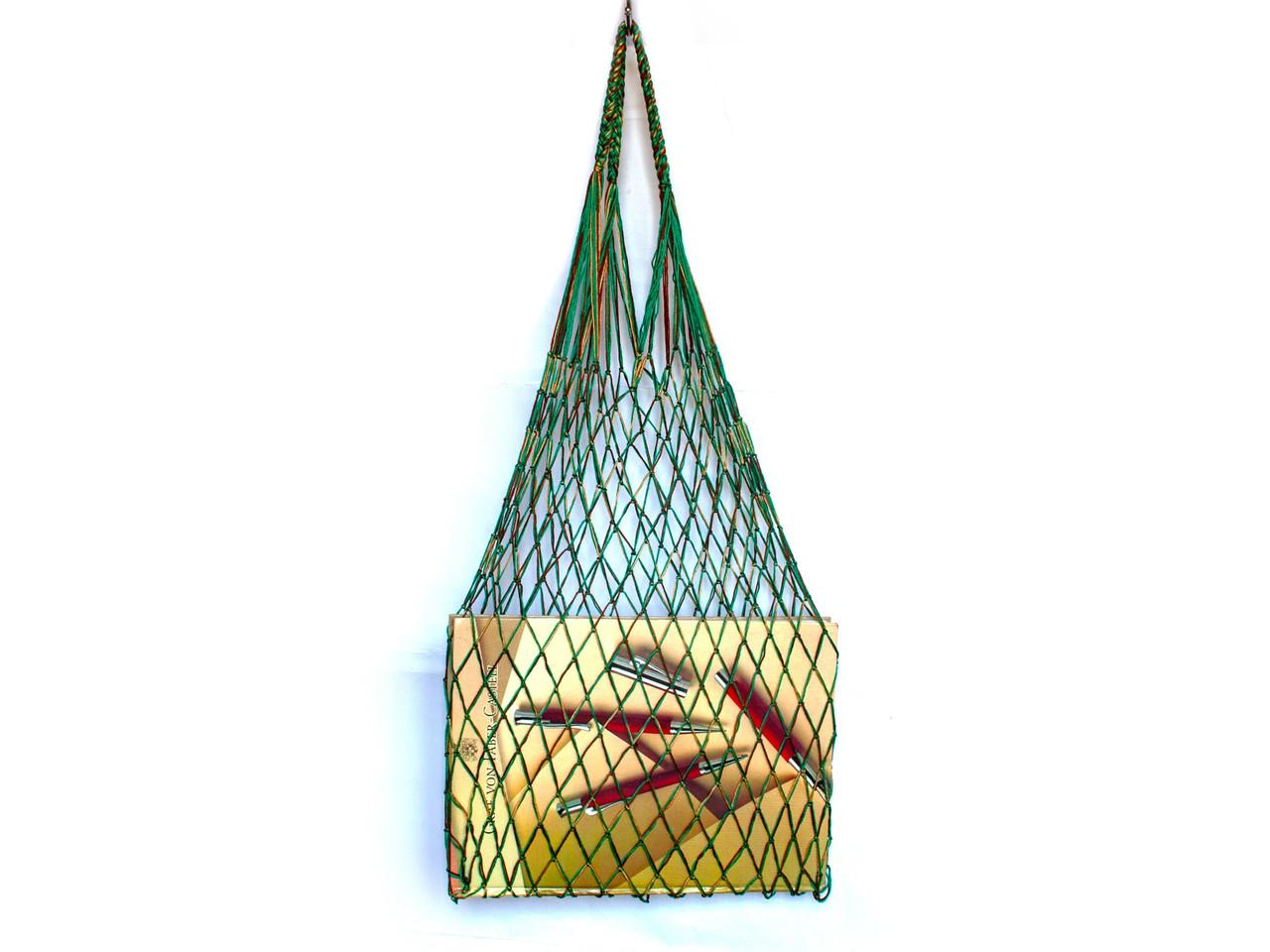 Авоська - тропическая зелень - Шопер сумка -  Французская сумка - Ежедневная сумка