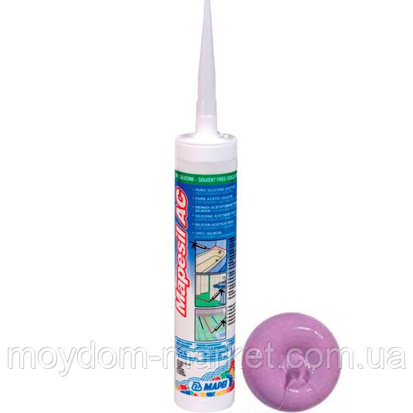 Клей-герметик силіконовий Mapei Mapesil AC 310мл, 162 Фіолетовий