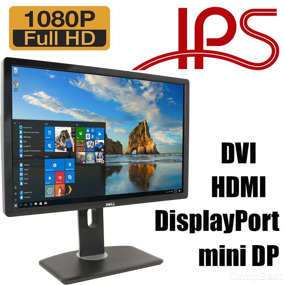 """DELL U2413F / 24"""" / 1920x1200 / IPS / DVI, HDMI, 2xDisplayPort, mini DisplayPort, USB"""