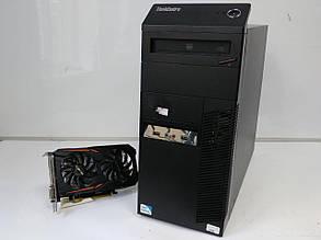 Lenovo m81 Tower / Intel Core i5-2400 (4 ядра по 3.1-3.4GHz) / 6 GB DDR3 / 320 GB HDD / GeForce GTX 1050 Ti 4GB GDDR5 (HDMI, DVI, DP) / БП 400W, фото 2