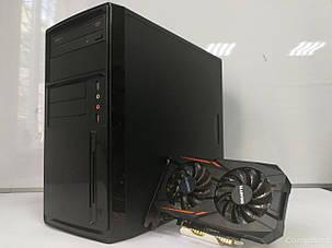 EuroCom Tower / AMD FX-4300 (4 ядер по 3.8-4.0GHz) / 6GB DDR3 / 320GB HDD / GeForce GT 1050 Ti 4GB GDDR5 128bit (HDMI,DVI,DP), фото 2