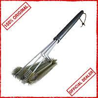 Щетка для чистки гриля Grilli Premium 3в1 77711