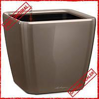 Умный вазон Lechuza Quadro Premium LS 43 31,9 л коричневый 16185