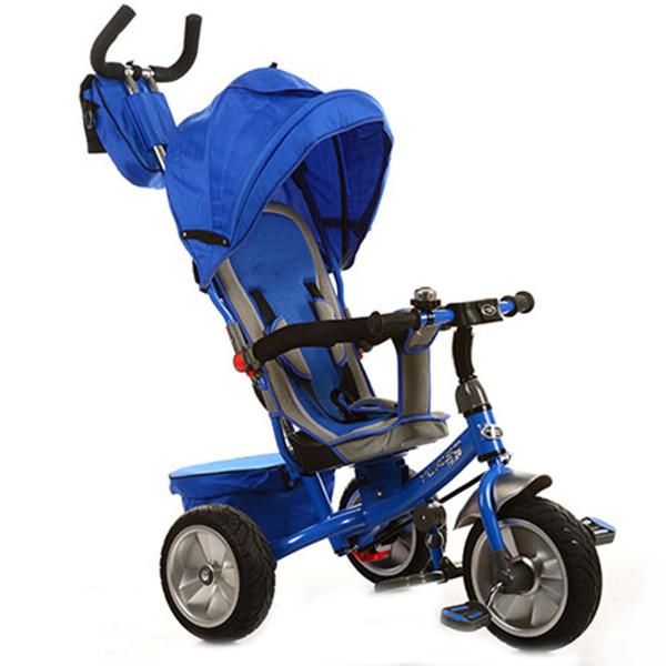 Трехколесный велосипед Turbo Trike M 3205A-1 Синий