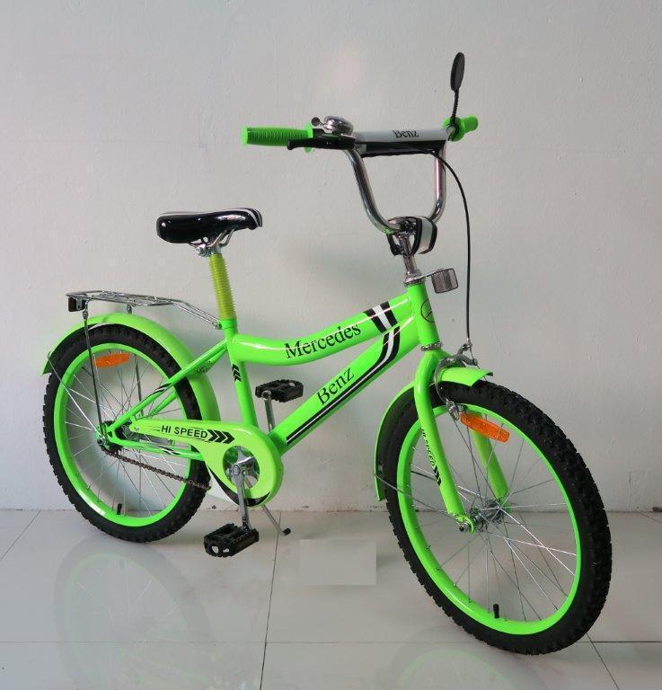 Двухколесный детский велосипед 18'' 171839 со звонком, зеркалом, ручной тормоз