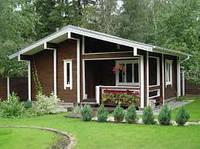 Строительство летних домов под ключ по Финской технологии