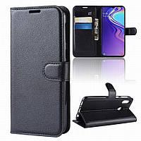 Чехол IETP для Samsung M20 книжка кожа PU черный, фото 1