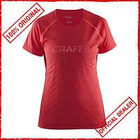 Футболка женская Craft Prime красная 1903174-2411