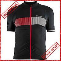 Футболка мужская Craft Verve Glow Jersey черная 1904995-9430