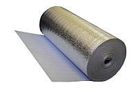 Рулонная теплоизоляция Теплоизол 3 мм (50 м) фольгированная с утеплителем для теплого пола