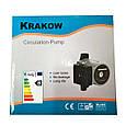 Насос KRAKOW UPS 25/80 180 мм циркуляционный (серый), фото 4