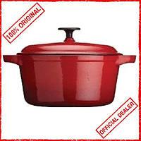 Кастрюля чугунная с крышкой Kitchen Craft 521149 (150899)